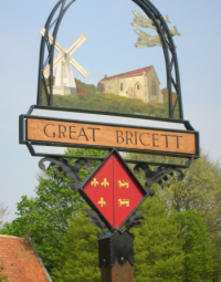 Great Bricett logo